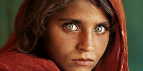 Steve McCurry, Afghaans meisje