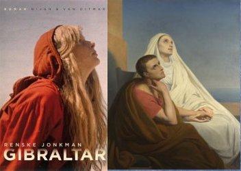Boekcover 2015 en schilderij 1848