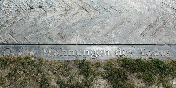 Nelly Sachs, Koppenplatz, O die Schornsteine, Berlijn