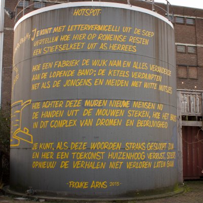 Frouke Arns, Nijmegen, Honig, Hotspot