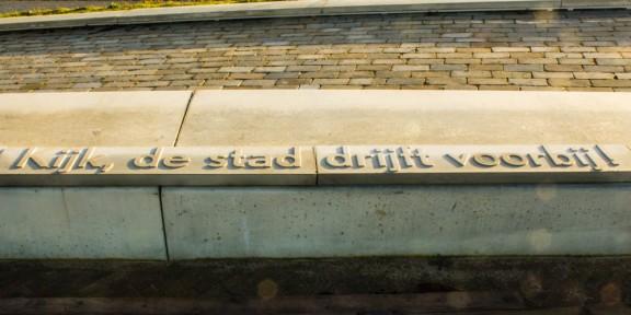 Nijmegen, Anne Vegter, nevengeul, Waal