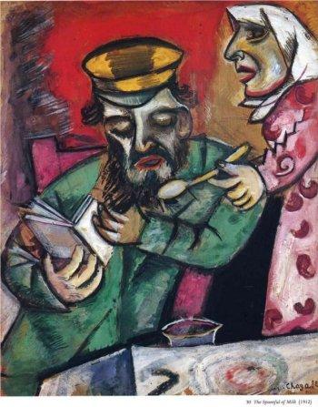 Marc Chagall, jaar van het boek