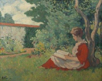 Jaar van het boek, Femme lisant dans le jardin, Georges d'Espagnat