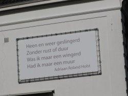 Poëzie, Adriaan Roland Holst, Utrecht