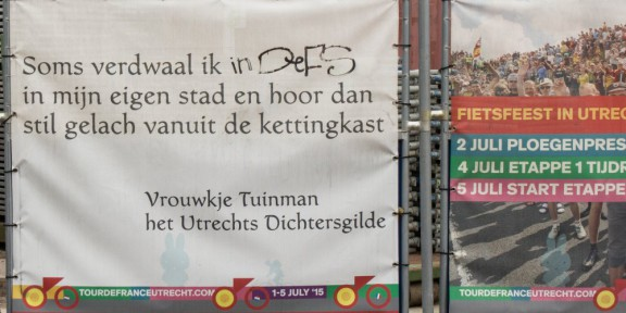 Poëzie, Vrouwkje Tuinman, Utrecht, Tour de France