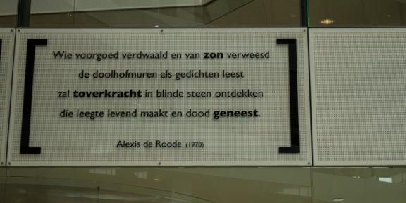 Poëzie, Alexis de Roode, Utrecht