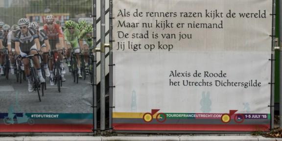 Poëzie, Alexis de Roode, Tour de France, Utrecht