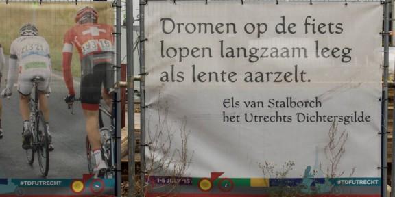 Poëzie, Els van Stalborch, Utrecht, Tour de France 2015