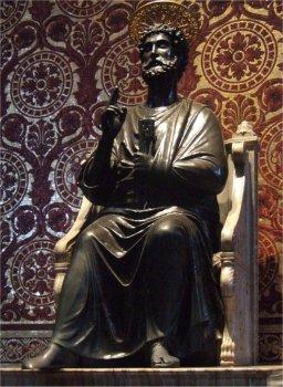 Arnolfo di Cambio, Rome, St. Petrus