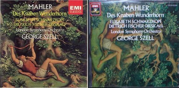 Des Knaben Wunderhorn, albumcover