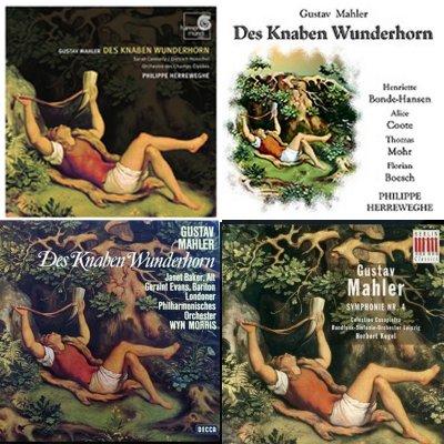 Des Knaben Wunderhorn, albumcovers