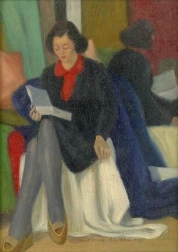 Jaar van het boek, Antonio Calderara