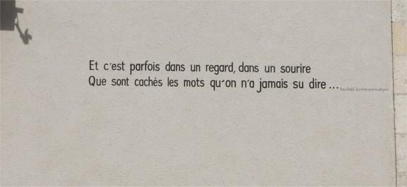 Poëzie, songtekst, Yves Duteil, La Charité sur Loire