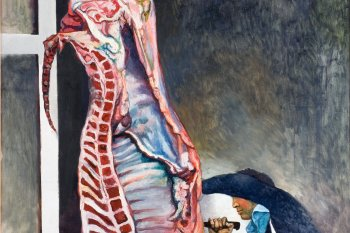 Geslachte os, Renato Guttuso, Rembrandt
