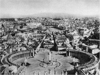 Vaticaan, oude situatie, sloop