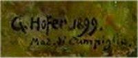 Jaar van het boek, Gottfried Hofer, signatuur