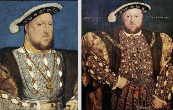 Hans Holbein, Henry VIII, The Tudors