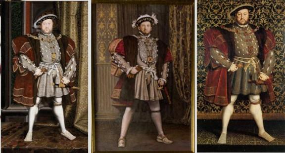 Henry VIII, Hans Holbein, The Tudors