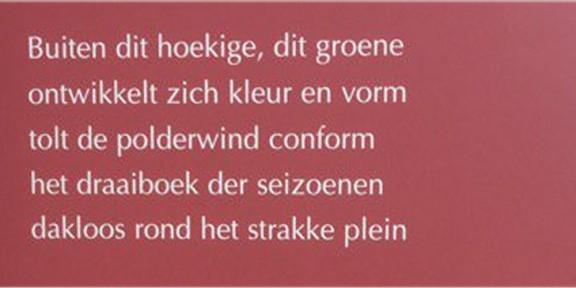 Poëzie, gedicht, Karwijhof, Nagele, Annemieke van Rooijen