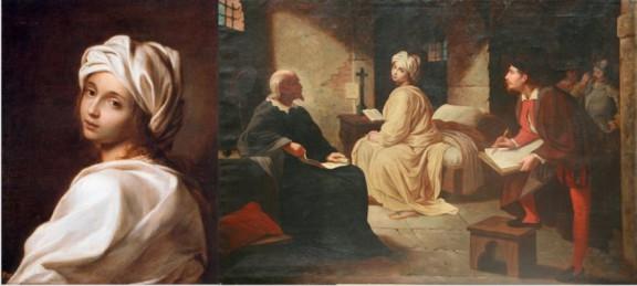 Beatrice Cenci, Guido Reni, Achille Leonardi