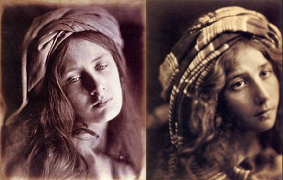 Julia Margaret Cameron, Beatrice Cenci, Kate Keown