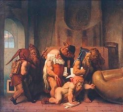 Moritz von Schwind, Gnomen am Zeh der Bavaria