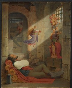 Moritz von Schwind, Der Traum des Gefangenen