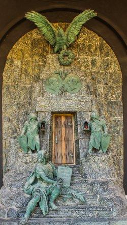 Grafmonument, August Z|ag, Heinrich Natter, Wenen