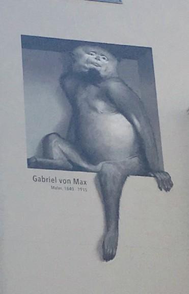 Muurschildering, Gabriel von Max, Berlijn