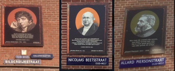 Straatnaamplaatjes, Amsterdam