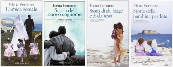 Elena Ferrante, Napolitaanse romans