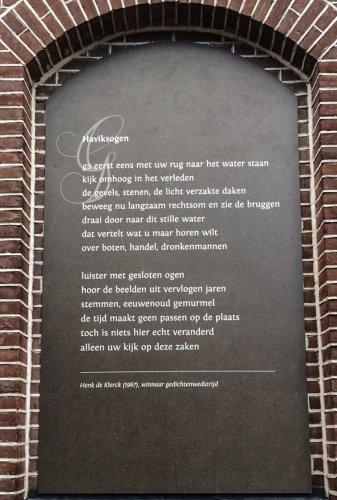 Po@ezie, gedicht, Henk de Klerck, Amersfoort, Haviksogen