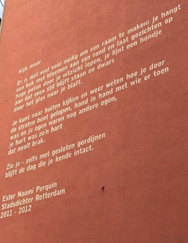 Poëzie, gedicht, Ester Naomi Perquin, Rotterdam, Librijesteeg, Kijk maar