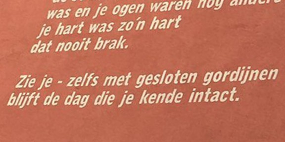 Pöezie, gedicht, Ester Naomi Perquin, Rotterdam