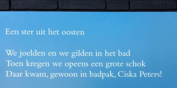 Poëzie, geidcht, Jaap van den Born, Nijmegen