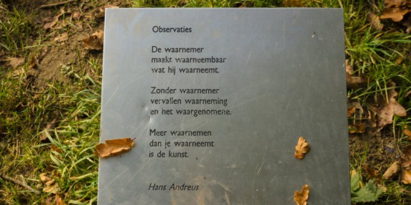 Poëzie, gedicht, Hans Andreus, Valkenburg