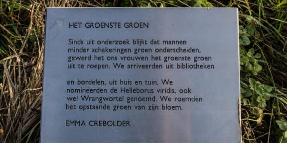 Poëzie, gedicht, Emma Crebolder, Stokhem