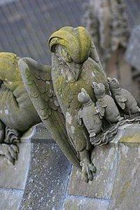 Pelikaan, luchtboogbeeld, St. Jan, Den Bosch
