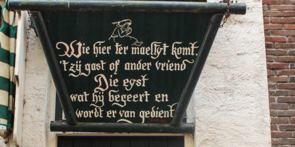 Poëzie, gedicht, Jacob Cats, Harderwijk