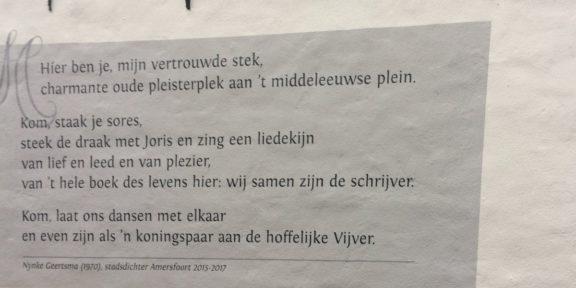 Poëzie, Nynke Geerstma, Amersfoort