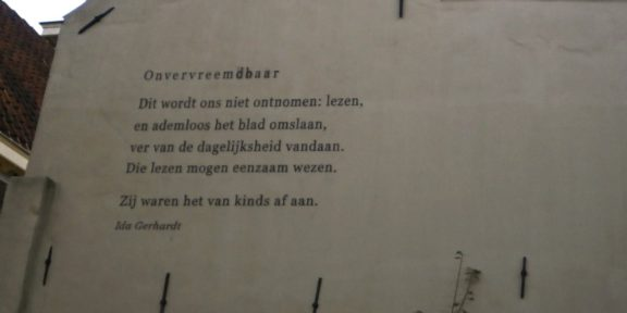 Poëzie, gedicht, Ida Gerhardt, Zutphen