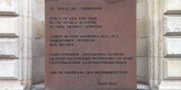 Poëzie, Gust Gils, Gent