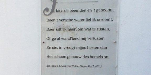 Poëzie, gedicht, Willem Sluiter, Borculo