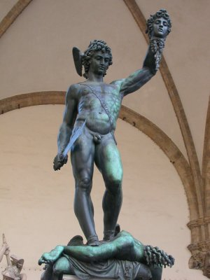 Benvenuto Cellini, Perseus, Medusa, Florence