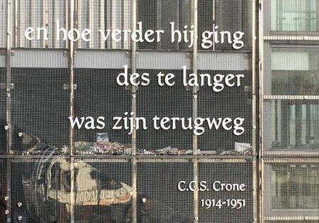 Poëzie, gedicht, C.C.S. Crone, Utrecht