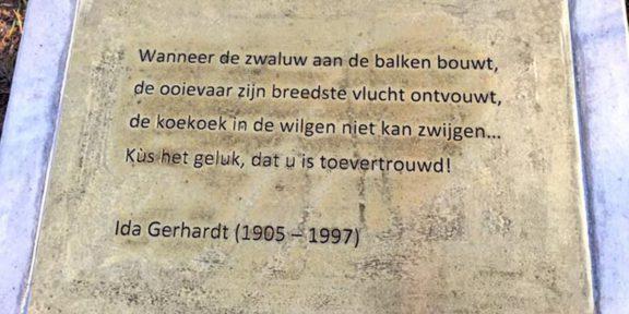 Poëzie, gedicht, Ida Gerhardt, Zalk