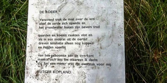 Poëzie, gedicht, Rutger Kopland, Geuldal