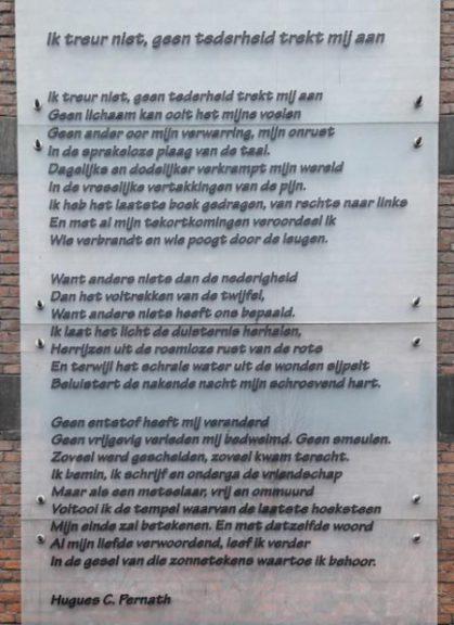Poëzie, gedicht, Hugues C. Pernath, Gent