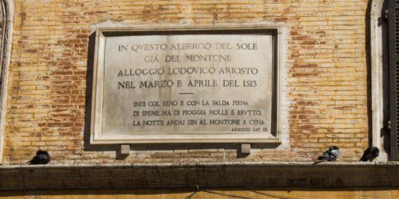 Poëzie, Ludovico Ariosto, Rome