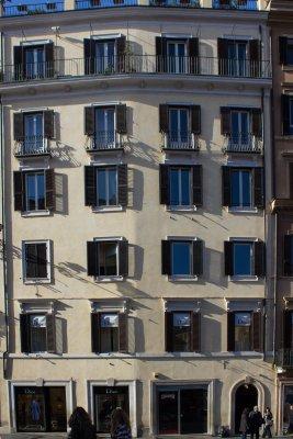 Moritz von Schwind, Piazza di Spagna, Rome